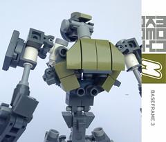 BASEFRAME_3 (m_o_n_k_e_y) Tags: mecha robots scifi lego moc