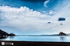 Cuando cierro los ojos (Miguel Angel Lillo Fotografa) Tags: aguilas murcia espaa mar mediterrneo cielo nubes playa nikon d7200 18140mm
