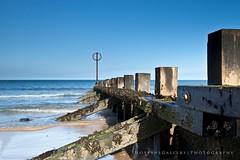 Groyne (Chris_Hoskins) Tags: wood sea beach scotland wooden aberdeen northsea groyne aberdeenbeach