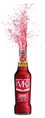 VK Cherry Promo Bottle (FoodBev Photos) Tags: red cherry bottle explosion pop vodka gush vk globalbrands