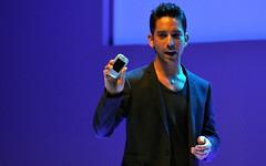Danny K with Samsung Galaxy Pocket