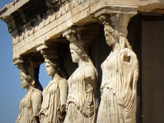 The Caryatids (keithmaguire ) Tags: europe european hellas athens greece grecia atenas athena griechenland grce athene hy  athen grcia griekenland yunanistan  athnes atina grekland grecja  atene      athny   grgorszg ecko      yunani  lp   gresya