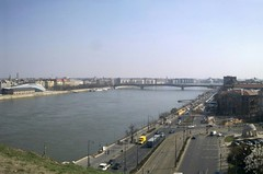 Danube river from the Buda river bank
