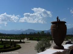 The Alps seen from the gardens of the Palace of Venaria Reale, near Turin, Italy (LuisaLuisa) Tags: italy gardens torino italia palace piemonte palazzo turin venariareale piedmont giardini reggia venaria royalresidence