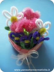 Chenille flowers