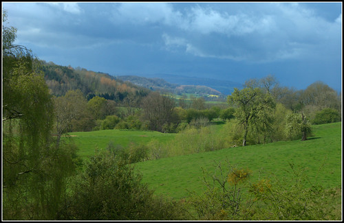Storm over Worcestershire