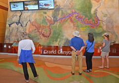 Grand Canyon National Park Visitor Center 3996 (Grand Canyon NPS) Tags: trip boat nationalpark display map grandcanyon center visit historic relief demonstration planning visitor information planner exhibits artifacts scienceonasphere