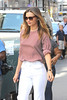 Miranda Kerr is seen out and about in a chic summer ensemble in Manhattan New York City, USA