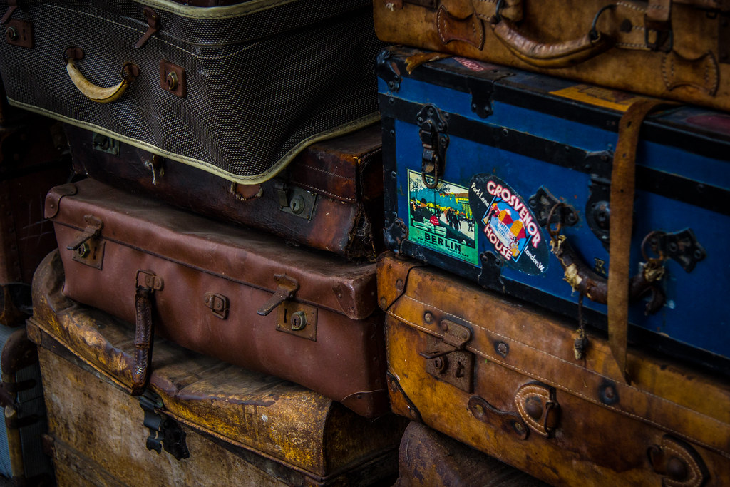 Old Luggage by Nic Stewart, on Flickr
