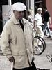 belgen16 (sindala) Tags: man person belgie streetphotography mens series desaturated gent poeple blablabla mensen colorfulpeople straatfotografie hintofcolor