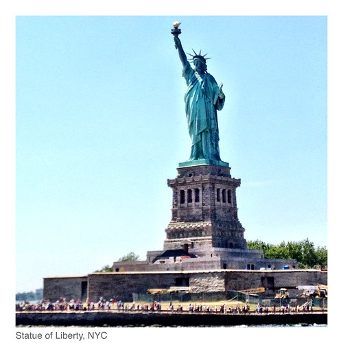 The Statue of Liberty calls us to move forard!