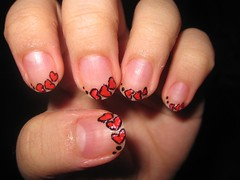 nail art design french hearts (katikuykuy) Tags: heart nailart frenchtips nailartdesign simplenailart cutenailart beautifulnailart uniquenailart heartnailart katikuykuysnailart heartnailartdesign hearttips heartfrenchtips