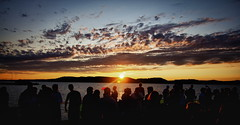 Balaton Sound festival 2012 (bazs_eos) Tags: sunset party beach festival hungary 60d balatonsound