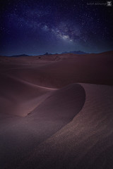 desert vs stars (sultan alghamdi) Tags: night canon stars landscape desert saudi arabia 5d sultan mark2 مستوره alghamdi