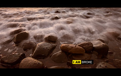 Oh Nikon! What have you done to me? (tim.cw) Tags: sunset texture beach nikon waves pebbles broke 1424mm d800e