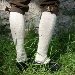 18th century-style stockings (Asplund) Tags: knitting stocking stickning strumpa