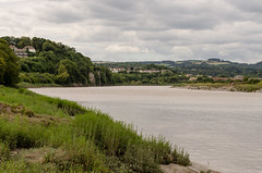 Clouds incoming (Mark Hobbs@Chepstow) Tags: wales lens nikon flickr sigma nikkor dslr tidal chepstow hightide gwent riverwye copyrighted monmouthshire bulwark markhobbs nikond7000 markbusa