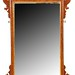 180. Chippendale style Wall Mirror with Gilt Pheonix
