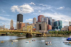 Pittsburgh skyline and boats from PNC Park HDR (Dave DiCello) Tags: beautiful skyline photoshop nikon pittsburgh tripod usxtower christmastree northshore bluehour nikkor hdr highdynamicrange pncpark thepoint pittsburghpirates cs4 steelcity photomatix beautifulcities yinzer cityofbridges tonemapped theburgh pittsburgher colorefex cs5 ussteelbuilding beautifulskyline d700 thecityofbridges pittsburghphotography davedicello pittsburghcityofbridges steelscapes beautifulcitiesatnight hdrexposed picturesofpittsburgh cityofbridgesphotography