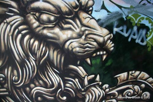 Lion - Graffiti by Feek & Paris