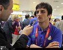 سوریان مدال طلا را این بار به مادرش تقدیم کرد