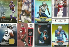 FOOTBALL SPORTS CARDS (KidsandCauses) Tags: 2 30 football king 2000 unique johnson 2006 jackson edge jersey gary t3 williamson kafka 2008 2009 platinum 42 56 memorabilia 87 108 199 topps fitzgerald 132 2010 chrisjohnson 2011 goldcolor vincentjackson gameused troywilliamson jonesdrew larryfitzgerald mauricejonesdrew shaunking mikekafka gujersey flairshowcase gsrmjd olandisgary