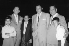 Gov. Joseph Flores, Baltazar Carbullido, and Family