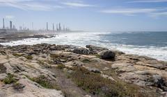 REFINARIA - MATOSINHOS (Joo Valente / valentepvz) Tags: praia beach energy rocks oil petrol refinery petro joao matosinhos energia galp valente petrogal refinaria valentepvz
