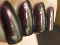 Rimmel Hard Edged (alizarineclaws) Tags: red shimmer rimmel duochrome