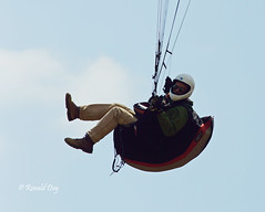 Paraglider ~Matt Davis~ (Ron1535) Tags: golden colorado wing sail roll pitch paragliding soaring glider lookoutmountain pilots paragliders thermals mtzion yaw freeflight windcurrents freeflyers glideraircraft soaringaircraft ramairdesign paragliderspilots