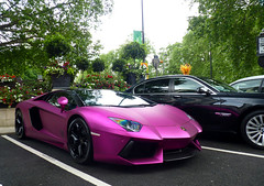 The Pink One (BenGPhotos) Tags: pink 2 black london car design photo italian purple fuchsia exotic lp tuning lamborghini supercar spotting oakley matte 2012 v12 tuned 760 7602 hypercar aventador lp7602 lp760