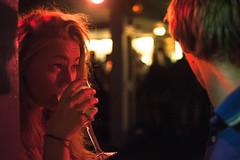 Hannah (TGKW) Tags: shadow portrait people woman glass girl bar night pub wine glasgow candid hannah drinking maggie nightclub nightlife mays 4933