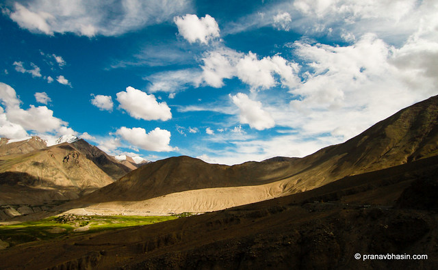 The Mystical Shadows at Leh, Ladakh