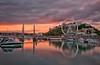 Torquay Dusk (Captain Nikon) Tags: bridge sunset boats harbour dusk devon ferriswheel torquay torbay longexposures nikond90 bigstopper bwneutraldensityfilter flickrandroidapp:filter=none