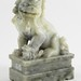 156. Soapstone Carved Foo Dog
