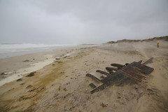 Nor'Easter Uncovers Cape Cod Shipwreck (Chris Seufert) Tags: orleans ship capecod shipwreck montclair wreck nausetbeach