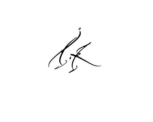 Calligraphie Tatouage Lettre L K V M Calligraphie Tatouage Prenom