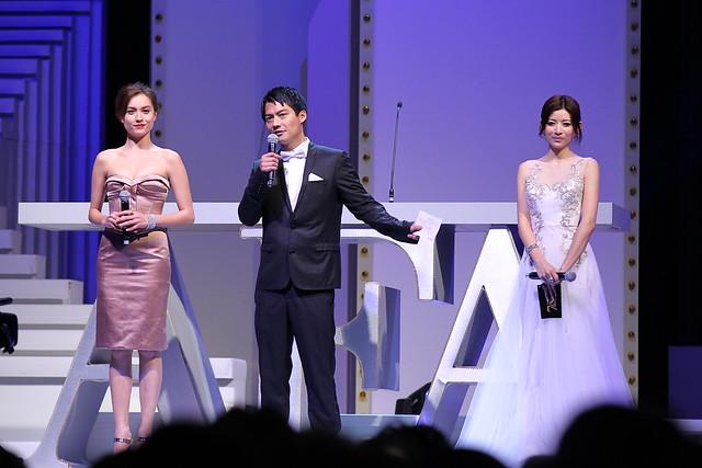 Mandy Lieu, Archie KAO and Maria CHAN