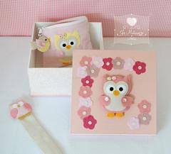 Corujices ♥ (Jo Matarazzo Ateliê) Tags: craft felt owl coruja feltro corujinha corujafeltro necessairecoruja marcadordepáginacoruja caixacoruja
