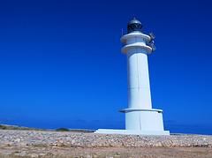 cap de berberia lighthouse (jrblanco53) Tags: light sea sky lighthouse sunshine island formentera