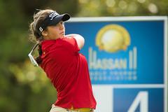 Maria Parra of Spain (Ladies European Tour) Tags: morocco mor rabat parramariaesp