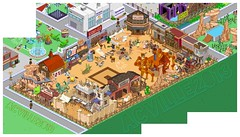 Wild West p2 (AC1977b) Tags: horses simpsons wildwest tsto