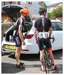 Graeme Cross. (Paris-Roubaix) Tags: road west bicycle race scotland cross helmet scottish racing national calder works graeme championships poc the 2016