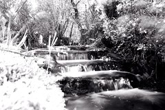 Water Flow (metal_monkey80) Tags: blackandwhite white black france water countryside waterfall stream blacknwhite oldmill