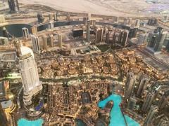 View from the top (KhanTM) Tags: dubai burjkhalifa