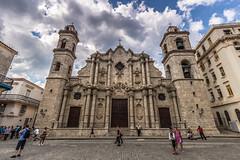 Cathedral of Havana, Cuba (Rui P Baio) Tags: travel panorama tourism latinamerica landscape island tour angle cuba wide wideangle panoramic traveller communism spanish fidel latin northamerica caribbean che latino cuban revolucion guevara caribe