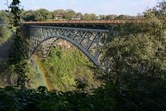Victoria Falls bridge (Geoff Cooke: www.geoffs-trains.com) Tags: zimbabwe victoriafalls zambeziriver victoriafallsbridge
