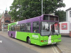Ipswich Buses 98 X98LBJ Crown St, Ipswich (1280x960) (dearingbuspix) Tags: 98 ipswichbuses x98lbj