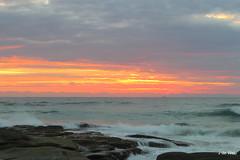 goodmorning Friday (Jeannine DW) Tags: ocean beach sunrise rocks australia