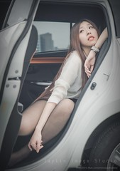 jaylin-0172 ( Jaylin) Tags: travel portrait stockings girl outside ol photo airport model women uniform open library longhair taiwan olympus lookout heels taipei sailor mirco omd pepole hight m43 mzd jelin linjay